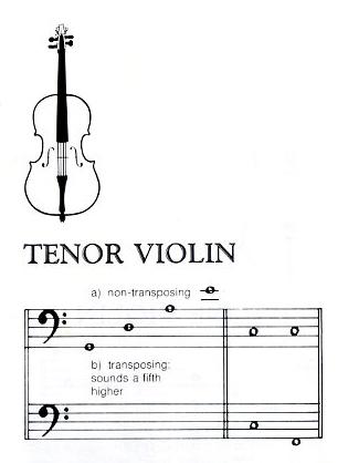 tenor-violin