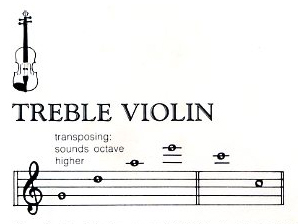 treble-violin